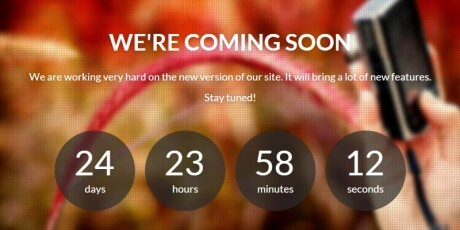 free responsive bootstrap coming soon page