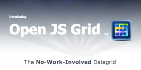 javascript php data table grid library