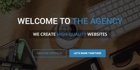 portfolio bootstrap 3 web template