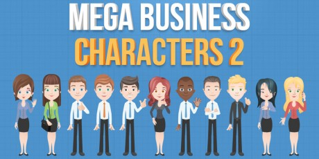 business vector characters 2
