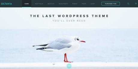 clean wordpress psd template