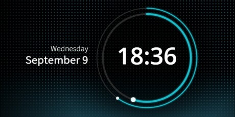 gsap animated svg clock