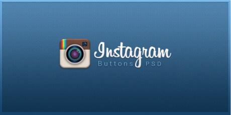 huge instagram buttons pack