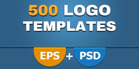 huge logo vector psd templates set