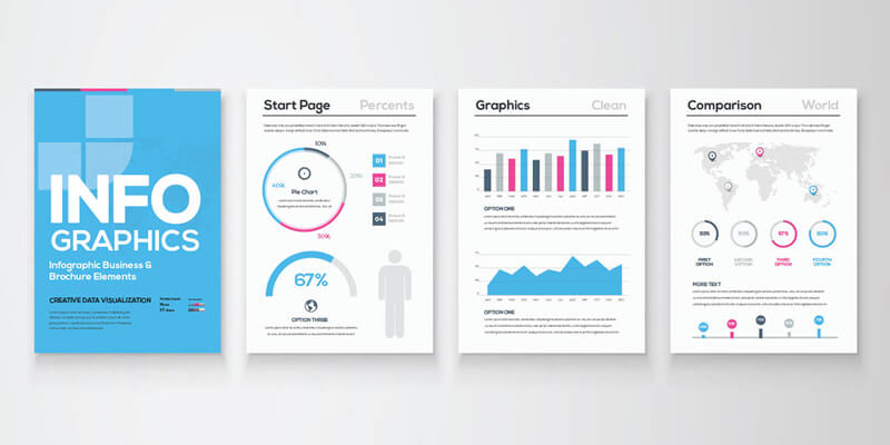 Free Infographic Brochure AI Template ByPeople - Infographic brochure template