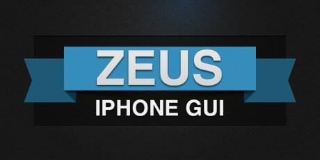 iphone psd gui set