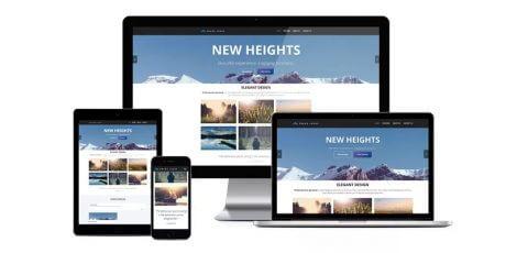 multi page business wordpress theme