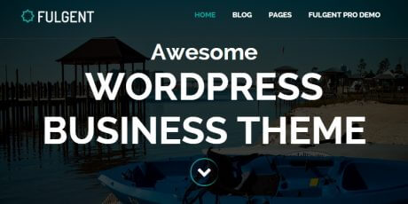 multipage blog wordpress theme