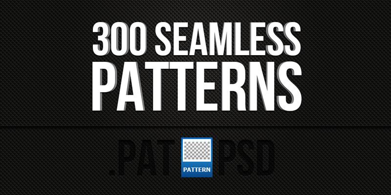 Seamless Photoshop Patterns Set
