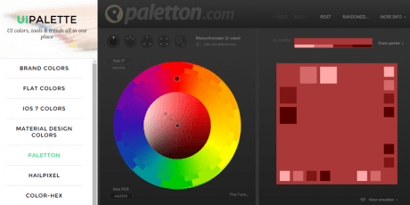 ui color tools trends collection
