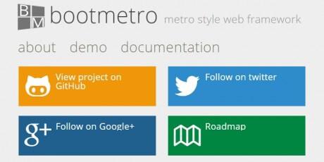 bootmetro framework