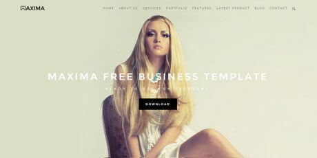 business bootstrap html template