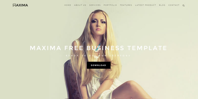 Maxima business bootstrap html template bypeople 8102015 wajeb Choice Image