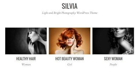 clean photography wordpress theme