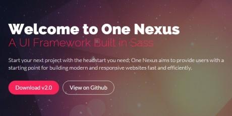 css framework one nexus