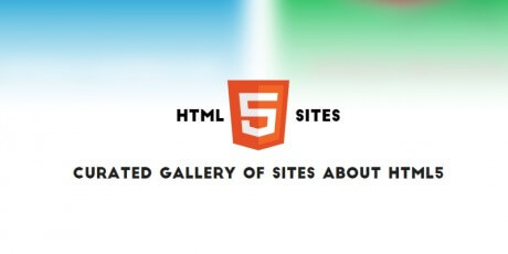 curated html5 sites gallery