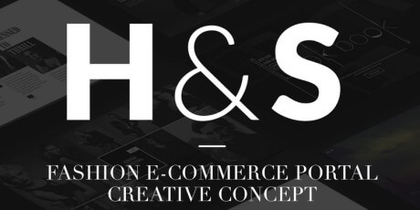 fashion ecommerce portal concept