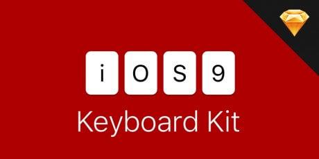 ios 9 sketch keyboard kit
