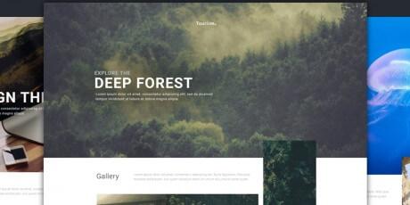 multipurpose website psd template