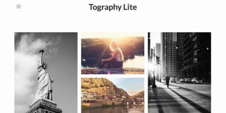 photo grid layout wordpress theme