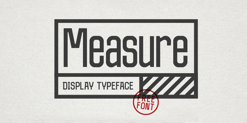 technical plots typeface