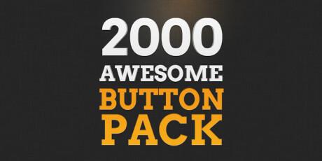 web psd buttons pack