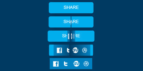 incredible css share button