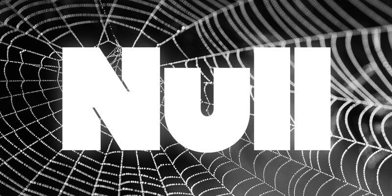 null font