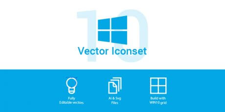 windows 10 icon set