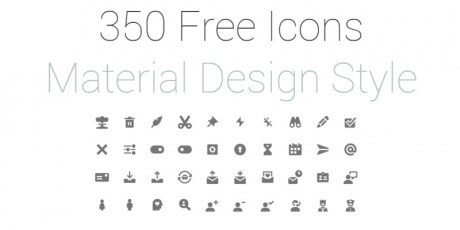 material icon set