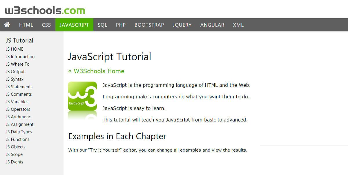 w3schools online web tutorials bypeople