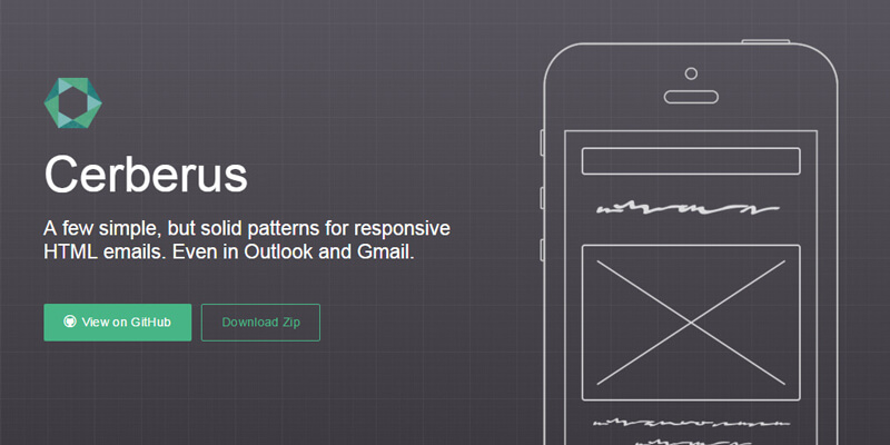 Cerberus: Responsive HTML Email Templates | Bypeople