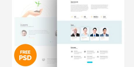 business consultancy psd
