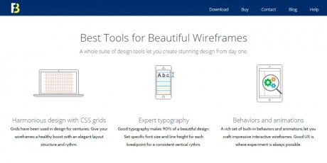 create clean wireframes