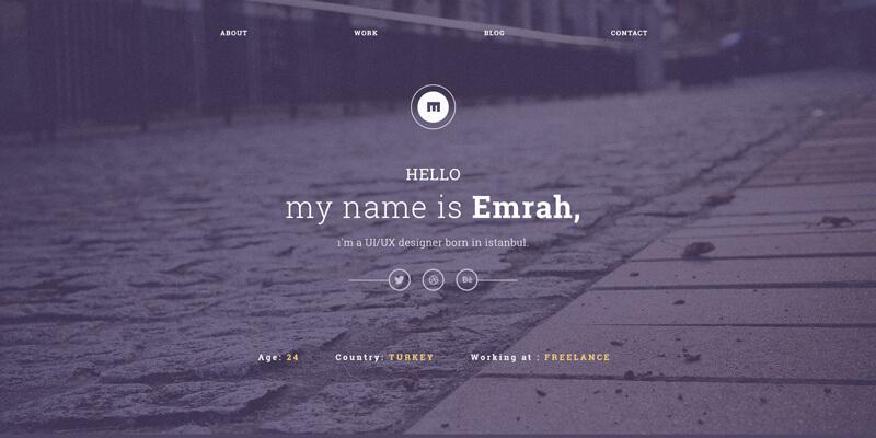 Emrah vintage portfolio psd template bypeople 16092014 maxwellsz