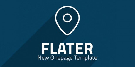 free psd template flater