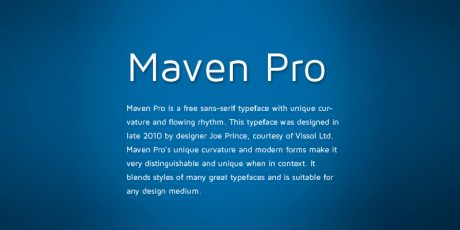 legible modern sans serif font