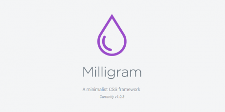 minimalist style css framework