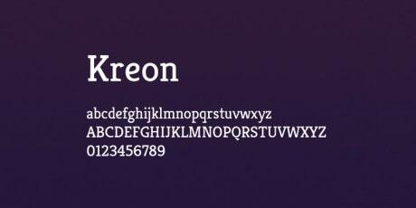 professional serif font