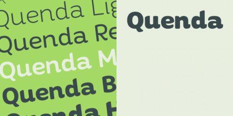 quenda medium style font