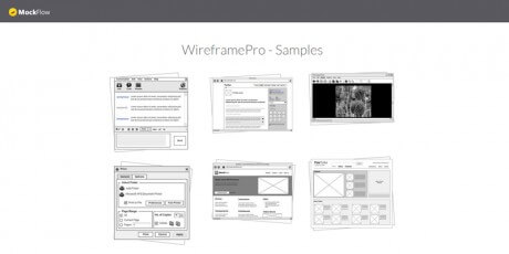 user interface wireframe