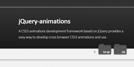 animations jquery framework