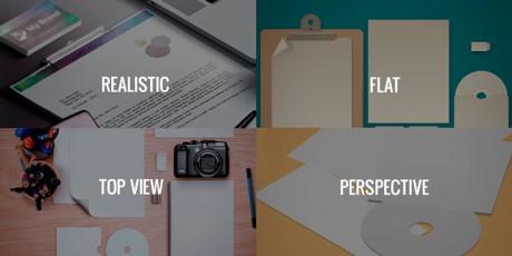 brand identity mockup templates