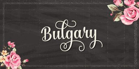 bulgary surreal handwritten font