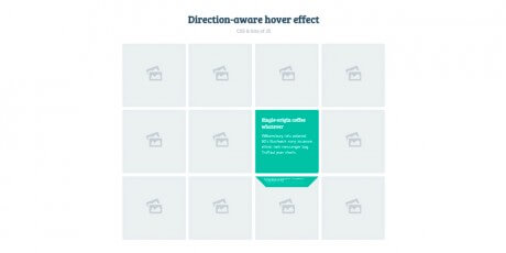 directioan aware 3d hover effect