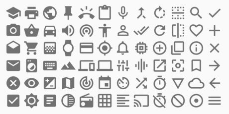 google material design icons