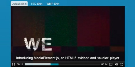 html5 video player audio player