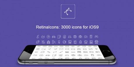 ios retina vector icons