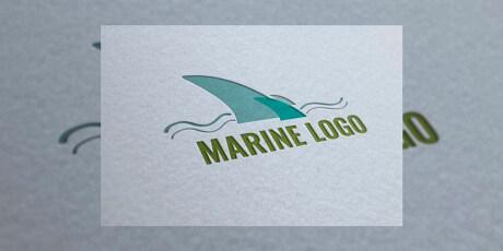 marine logo template