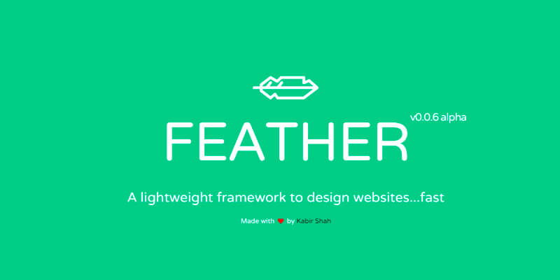 Feather: Minimal CSS Framework